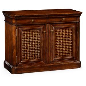 Side Cabinet With Latticework Doors