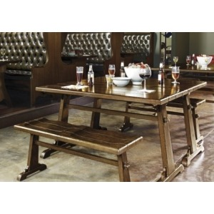Oak Tavern 3PC Dining Set