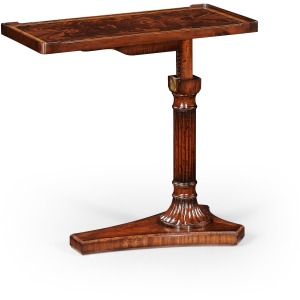 Mahogany Adjustable Sofa/bed Table
