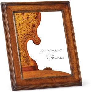 Country Walnut Picture Frame 8\