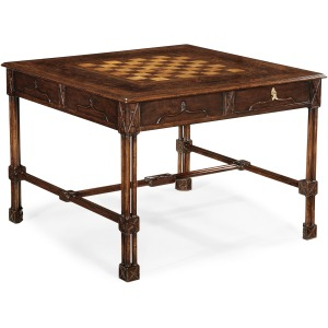 Chippendale Gothic Games Table Large