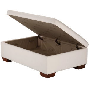 Jean Smooth-Top Storage Ottoman