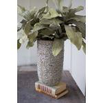 Ceramic Vase  with Horizontal Texture