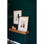 Abstract Prints Under Glass - Set of 2