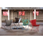 Iron Butterfly Chair - Antique Red