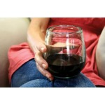 STEMLESS WINE GLASS - CLEAR