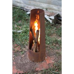 RUSTIC SILO FIRE PIT