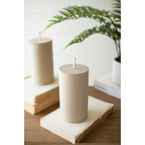 Faux Cardboard Candle