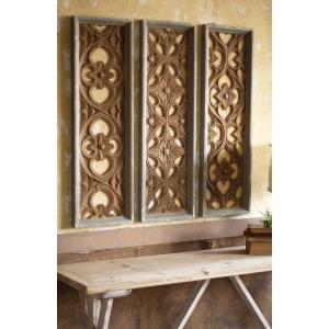 Set of 3 Wooden Panels