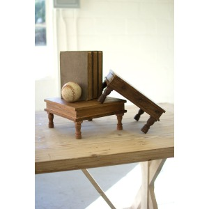 Small Recycled Wooden Riser