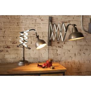 INDUSTRIAL VERTICAL SCISSOR WALL LAMP
