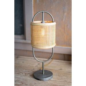 Metal Tabletop Lamp