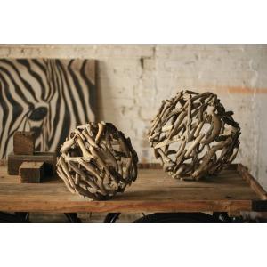Driftwood Sphere -- Large