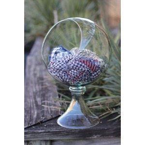 Round Glass Globe Display
