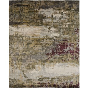 Juno Earth Tones  Forest Rug - 6' x 9'