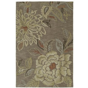 Inspire Embroidered Floral Rug - 5' x 7'6""