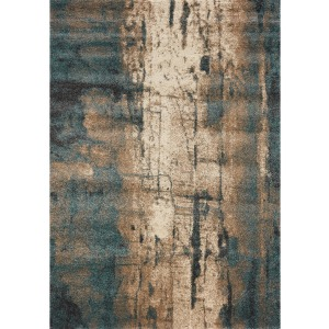 Ashbury Cream Blue Rug - 8' x 11'