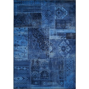 "Antika Dark Blue Rug - 5'7"" x 7'10"""