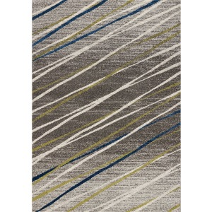 Camino Grey Blue Green Rug - 8' x 11'
