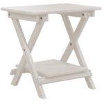 Deluxe Folding End Table W/Shelf