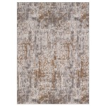 Enigma Metamorphic Brushed Gold Rug - 2' x 3'