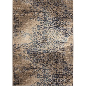 Cosmopolitan Nirvana by Virginia Langley Indigo Rug - 2' x 3'