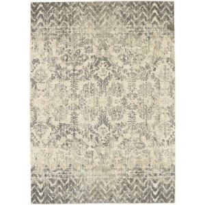 Touchstone Le Jardin by Patina Vie Willow Gray Rug - 8' x 11'