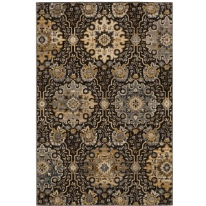 """Relic Caral Black Rug - 8' X 10"""""""