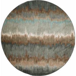 Euphoria Cashel Abyss Blue Rug - 8' Round