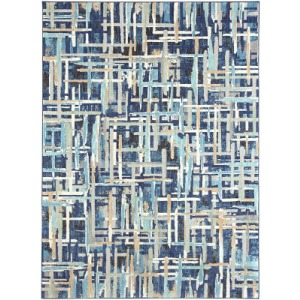 Intrigue Enchant Indigo Rug - 8' x 11'