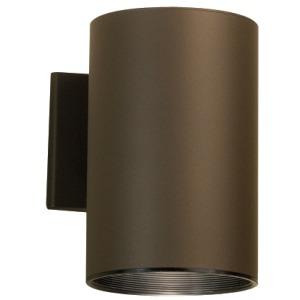 "Cylinder 7.75"" 1 Light Wall Light - Architectural Bronze"