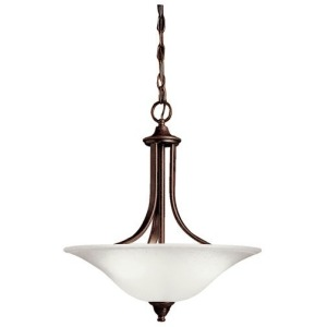 Dover 3 Light Convertible Inverted Pendant - Tannery Bronze