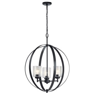 Winslow™ 3 Light Chandelier - Black