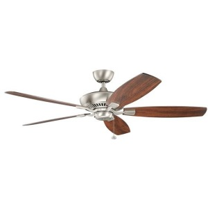 "Canfield XL 60"" Fan - Brushed Nickel"