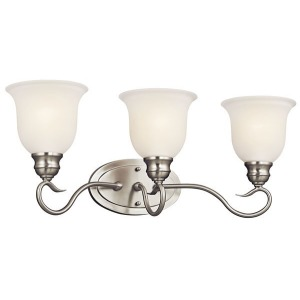 Tanglewood 3 Light Vanity Light - Brushed Nickel