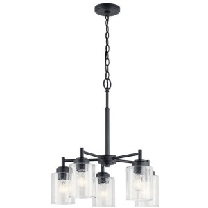 Winslow™ 5 Light Chandelier - Black