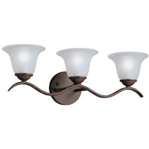 Dover 3 Light Vanity Light - Tannery Bronze