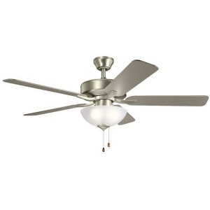 "52"" Basics Pro Select Fan - Brushed Nickel"