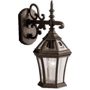 """Townhouse 15.25"""" 1 Light Wall Light - Tannery Bronze"""