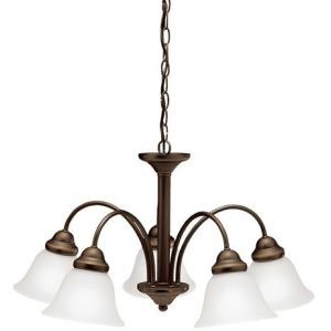 Wynberg 5 Light Chandelier - Olde Bronze