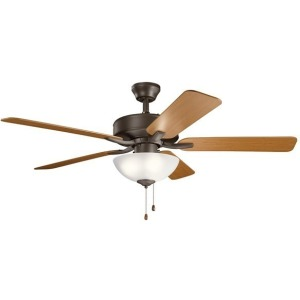 "52"" Basics Pro Select Fan Satin - Natural Bronze"