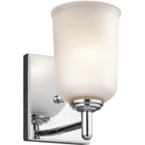 Shailene Collection Shailene 1 Light Wall Sconce - Chrome CH (Chrome)