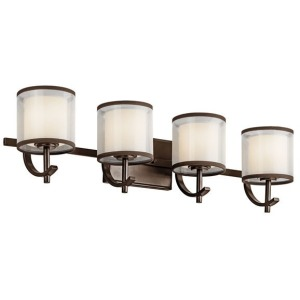 Tallie 4 Light Vanity Light - Mission Bronze