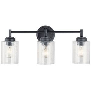 Winslow 3 Light Vanity Light - Black