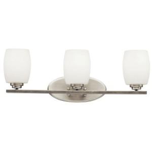 Eileen 3 Light Vanity Light - Brushed Nickel