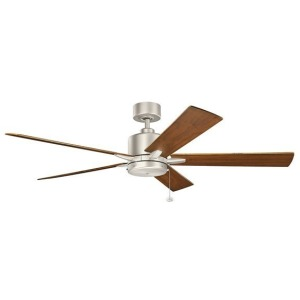 "Bowen 60"" Fan - Brushed Nickel"