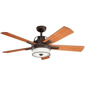 "Lacey II LED 52"" Fan - Olde Bronze"