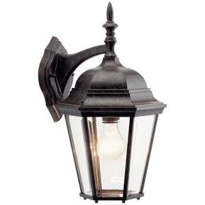 "Madison 17"" 1 Light Wall Light - Tannery Bronze"