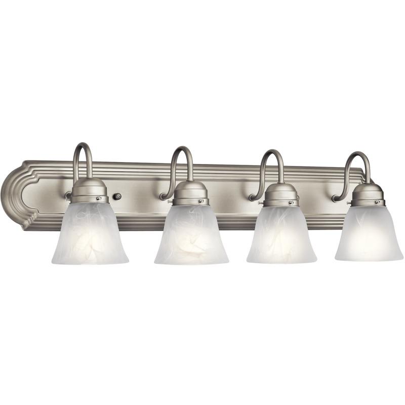 4 Light Bath Light - Brushed Nickel (Brushed Nickel)