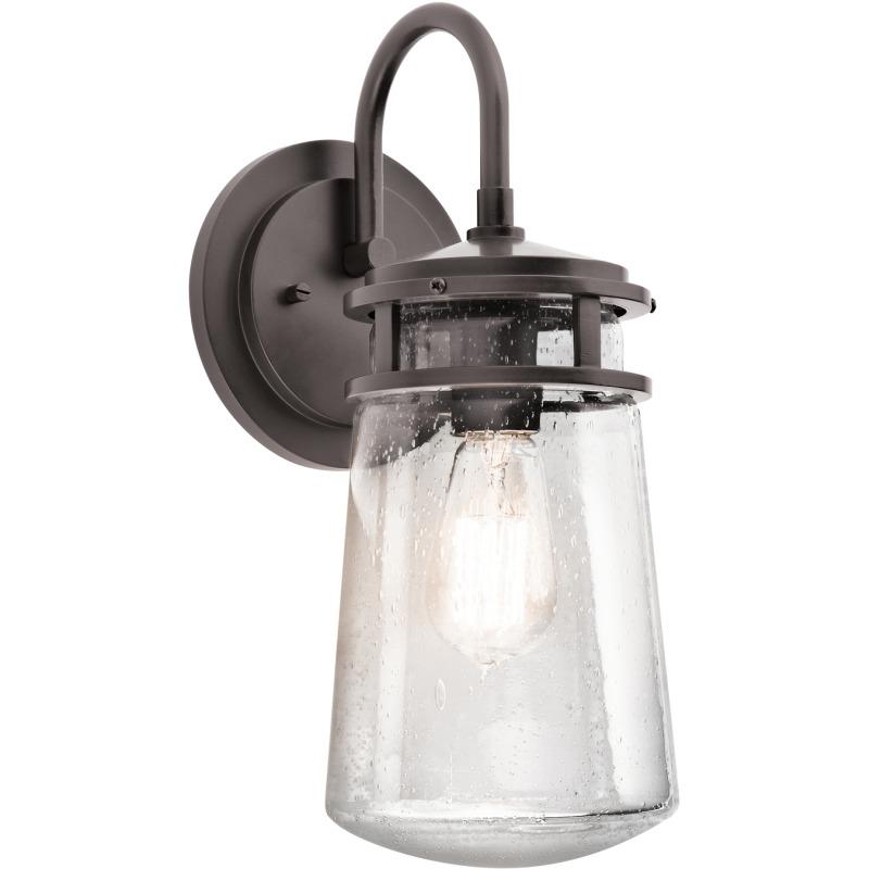 Lyndon Collection Lyndon 1 Light Outdoor Wall Lantern - AZ (Architectural Bronze)